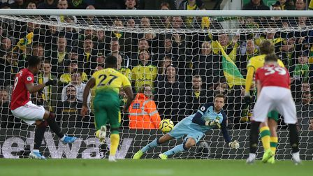 Tim Krul knows how to handle with and thrive under pressure. Picture: Paul Chesterton/Focus Images L