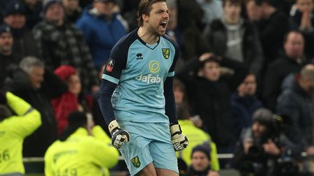 Krul, almost singlehandely, ensure City advanced to their first FA Cup quarter-final in 28 years wit