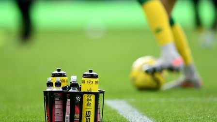 Norwich City trained at Carrow Road on Saturday. Picture: Joe Giddens/PA