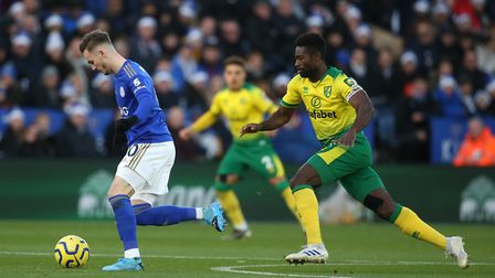 Tettey has faced his own Norwich City adversities, but continues to fight back. Picture: Paul Cheste