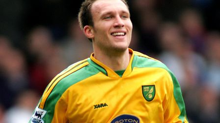 Dean Ashton has explained why he decided to stay at Norwich City following relegation. Picture: Acti