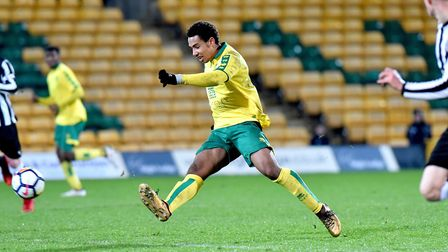 Canaries academy mdfielder Isak Thorvaldsson is on loan at Fleetwood Picture: Nick Butcher