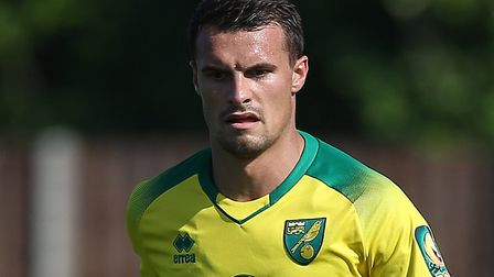 Philip Heise is on loan at Nuernberg from Norwich City Picture: Paul Chesterton/Focus Images