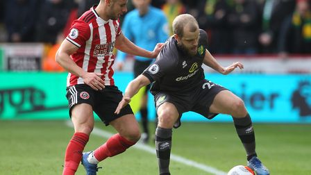 Norwich City's last Premier League match was a 1-0 defeat at Sheffield United on March 7 Picture: Pa