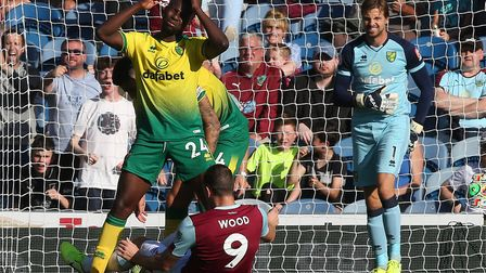It was back down to earth with a bump for Norwich at Burnley Picture: Paul Chesterton/Focus Images