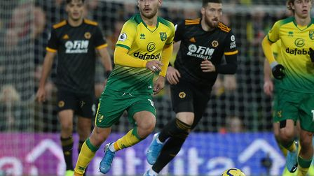 German midfielder Tom Trybull has made 17 appearances for Norwich City so far this season Picture by
