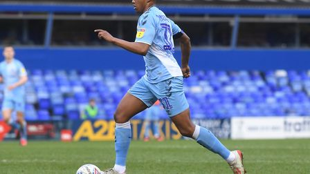 The 19-year-old played a significant role in Coventry's promotion this season. Picture: Darren Quint