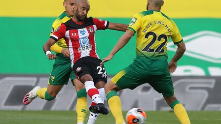 Nathan Redmond sealed Southampton's 3-0 win as he returned to face former club Norwich City Pictures