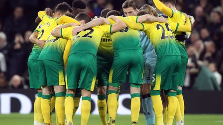 Norwich City players are showing their support for the Black Lives Matter campaign Picture: Paul Che
