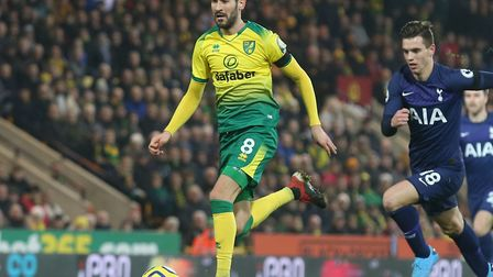 Mario Vrancic scored against Spurs in the Premier League in December and repeated the trick in a fri