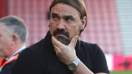 Daniel Farke faces the media on Thursday lunchtime ahead of Norwich City's return to Premier League