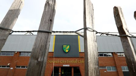 Carrow Road will be empty as City resume their Premier League season. Picture: Bradley Collyer/PA Im