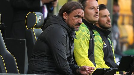 Daniel Farke's change to a 4-4-2 didn't pay off for Norwich City. Picture: Paul Chesterton/Focus Im