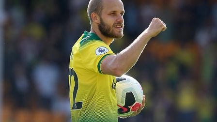 Another hat-trick match ball would ne bice, Mr Pukki Picture: Paul Chesterton/Focus Images Ltd