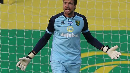 Tim Krul has been a big hit at Norwich City after a rocky start to life at Carrow Road Picture: Paul