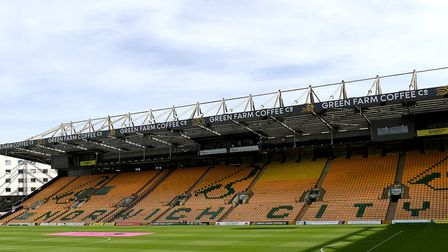 Supporters will not be able to attend matches at Carrow Road before the end of the 2019-20 season Pi