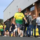 Whem will we next see Norwich City fans outside Carrow Road on matchday? Picture: PA