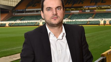 Stuart Webber is happy to see football matters finally being sorted out on the pitch Picture: Sonya