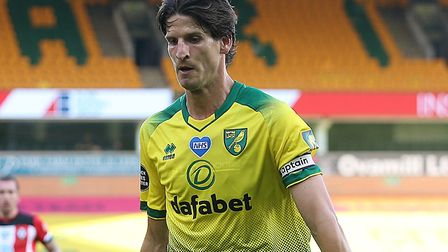Timm Klose returned for Norwich City against Southampton last week Picture: Paul Chesterton/Focus Im