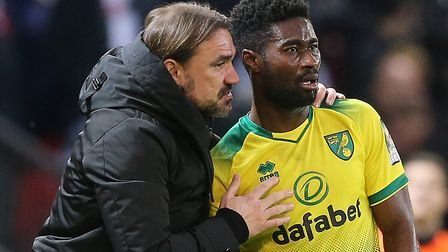 Daniel Farke may need Alex Tettey to step in to defence again Picture: Paul Chesterton/Focus Images