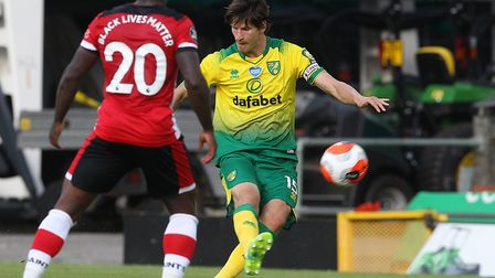 Timm Klose started his first league game since January 2019 as Norwich City lost 3-0 to Southampton