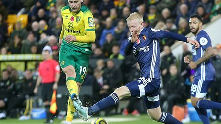 Tom Trybull is yet to score for Norwich City this season, in 17 appearances Picture: Paul Chesterton
