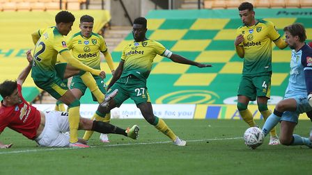 Harry Maguire's winner deep into extra-time sealed Norwich City's FA Cup fate Picture: Paul Chester