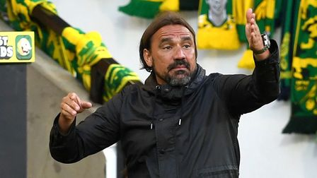 Can Daniel Farke engineer a late surge? Picture: PA