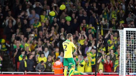 There were 9,000 Norwich fans at the Emirates in October 2017 Picture: Paul Chesterton/Focus Images