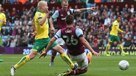 Naismith's last City league appearance arrived against Aston Villa in August 2017. Picture: Paul Ch