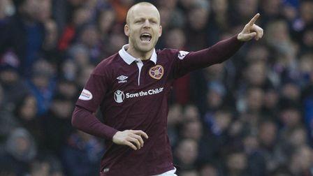 Steven Naismith will be playing in the Scottish Championship with Hearts next season. Picture: Jeff