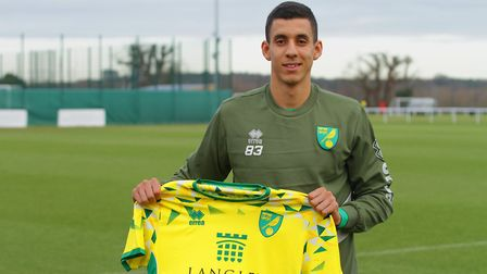 Gassan Ahadme - one of a number of Norwich City youngsters who local clubs would fancy taking on loa