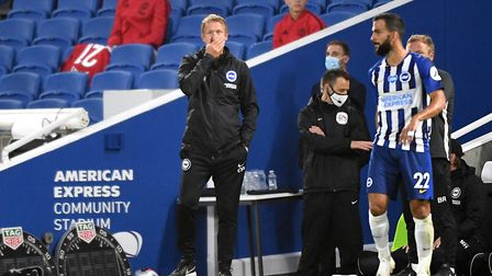 Brighton manager Graham Potter Picture: PA