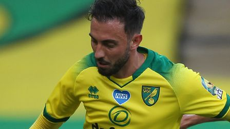 Josip Drmic returns to Norwich City's starting line-up against Brighton Picture: Paul Chesterton/Foc
