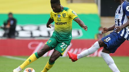 Alex Tettey faces a late fitness test on his knee ahead of Norwich City's game at Watford Picture: P