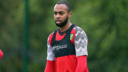 Melvin Sitti during training at Colney Picture: Norwich City FC