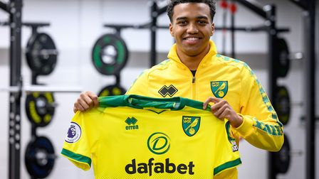 Incoming - Sam McCallum is an option next season Picture: Norwich City FC