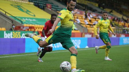 Lukas Rupp of Norwich in action during the FA Cup quarter final at Carrow Road, NorwichPicture by Pa