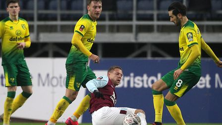 Burnley's Premier League visit to Norwich City will be live on Skysports Picture: Paul Chesterton/Fo