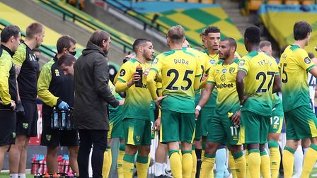 Norwich City couldn't find a way back into the game against Brighton at the weekend Picture: Paul Ch