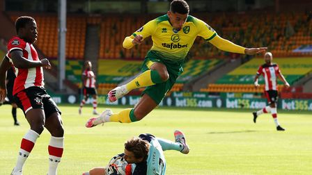 Norwich City were beaten 3-0 by Southampton behind closed doors at Carrow Road on Friday Picture: Ca
