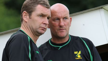 Duffy assisted Peter Grant during his tenure as Canaries boss. Picture: Maarten Straetemans/Archant