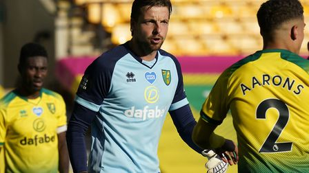 Tim Krul couldn't prevent Norwich City's 1-0 loss to Everton behind closed doors at Carrow Road on W