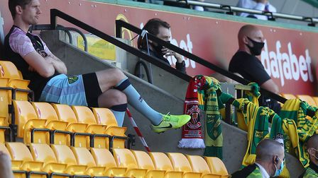 Norwich City will miss the impact of their supporters at tonight's FA Cup quarter-final. Picture: Pa