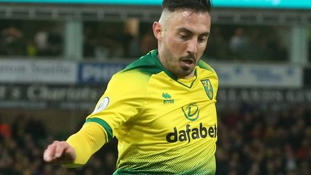 Norwich City striker Josip Drmic is a fitness doubt for Manchester United Picture: Paul Chesterton/F