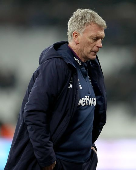 West Ham manager David Moyes Picture: PA