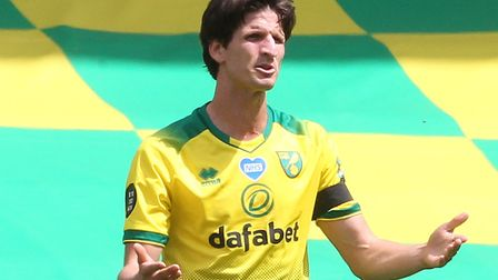 Timm Klose reacts to the Hammers' first goal