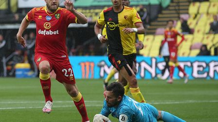 Teemu Pukki was denied again for Norwich City in the midweek 2-1 Premier League defeat at Watford, a