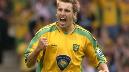 Norwich City legend Darren Huckerby during his playing days Picture: Archant library/Nick Butcher