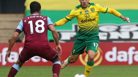 Norwich City ace Emi Buendia continues to be linked with a return to Spain Picture: Paul Chesterton/